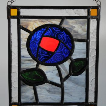 Rose Panel - inspired by Charles Rennie Mackintosh