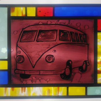 SALE! Last one - VW Camper Van Painted Panel